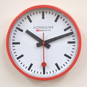 MONDAINE モンディーン 掛け時計 A990.CLOCK.11SBC