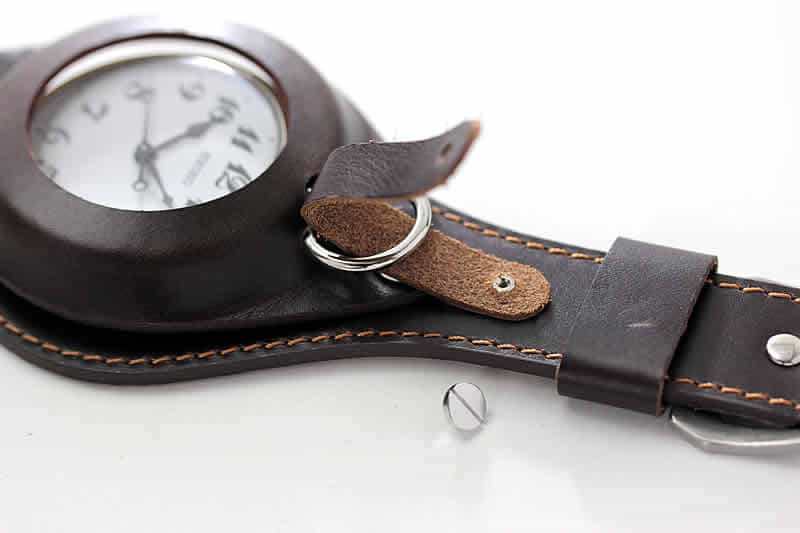 懐中時計の使い方