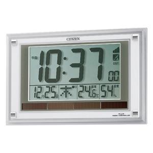 CITIZEN シチズン 掛け置き兼用 電波時計 パルデジットソーラーエア 【8RZ093003】