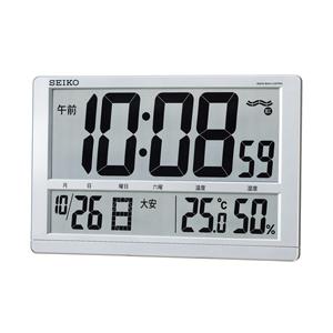SEIKO セイコー デジタル 電波 掛け置き兼用時計 SQ433S