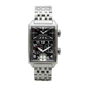 SEALANE(シーレーン) クォーツ式 腕時計 SE29-MBK ブラック