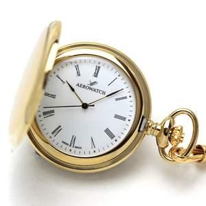 AERO(アエロ)クォーツ式 04821JA01 懐中時計
