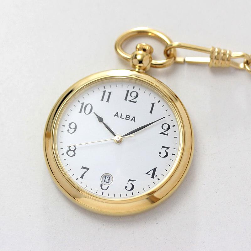 セイコー アルバ aqgk446 ALBA 懐中時計