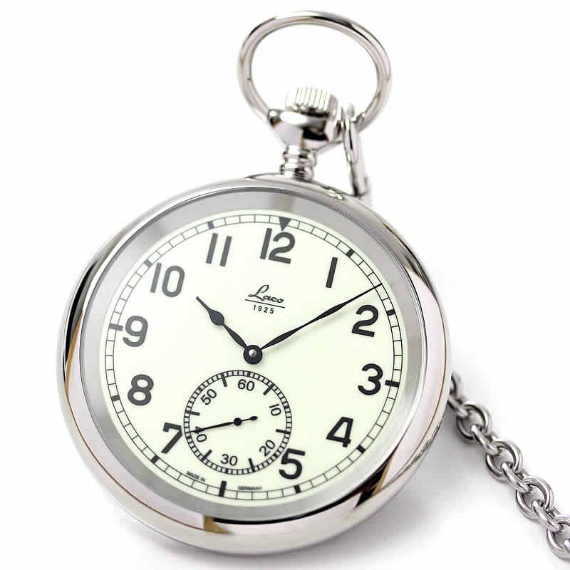 ラコ(Laco)861205 懐中時計 ミリタリーポケットウォッチ