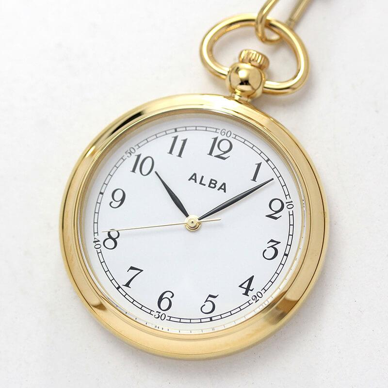 セイコー アルバ AQGK444 ALBA 懐中時計