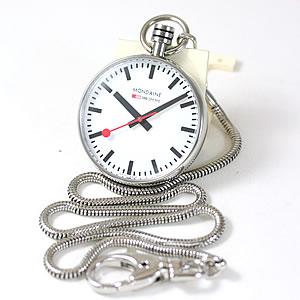 モンディーン/MONDAINE/鉄道時計/A6603031611SBB  懐中時計