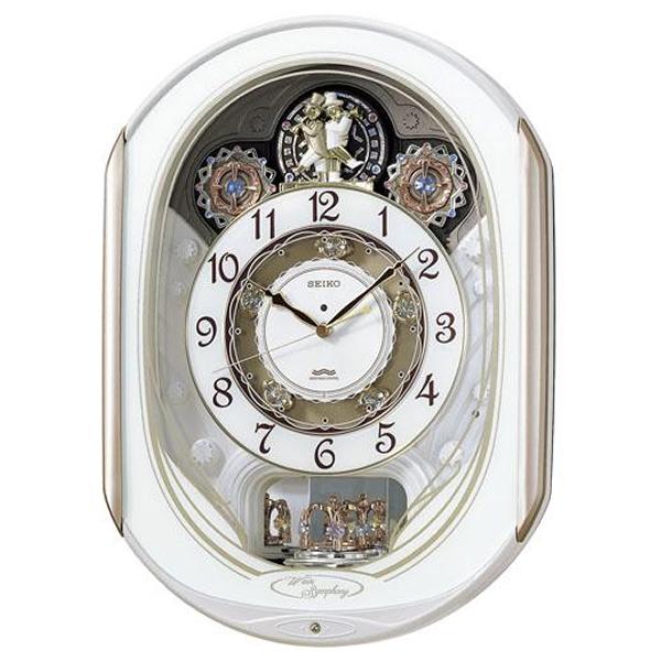 SEIKO セイコー 電波からくり掛け時計 ウェーブシンフォニー【RE565H】
