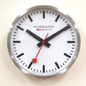 MONDAINE モンディーン 掛け時計 A990.CLOCK.16SBB ホワイト