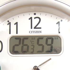 シチズンクロックネムリーナカレンダー付き掛け時計