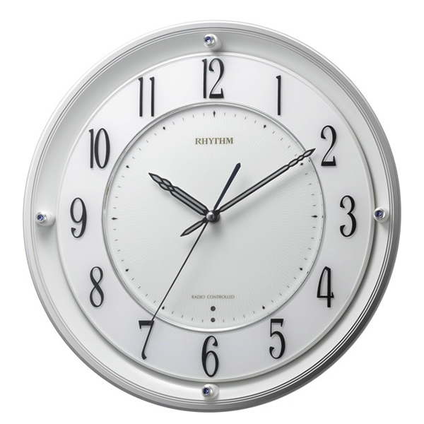 RHYTHM リズム 電波 掛け時計 RHG-M101 4MY789HG03
