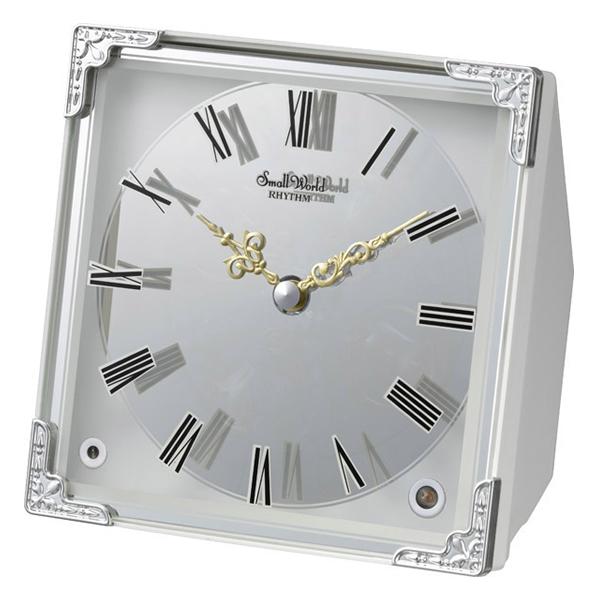 RHYTHM リズム SmallWorld からくり 置き時計 スモールワールドイルミナ 4RH785RH03
