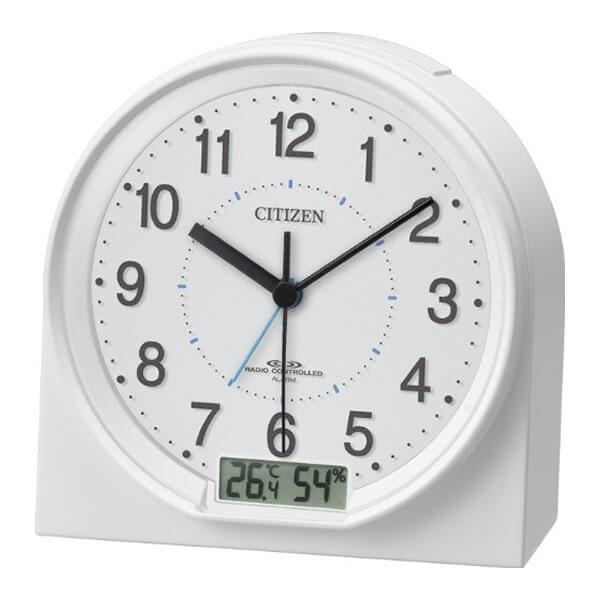 CITIZEN シチズン 電波 目覚まし時計 ネムリーナセリアRA12 4RLA12003