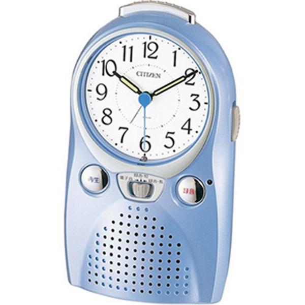 録音・再生機能付き目覚まし時計 4se521004