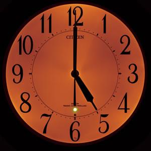 CITIZEN シチズン 夜光電波掛け時計 リバライトF461 【8MY461-006】 自動点灯ライト