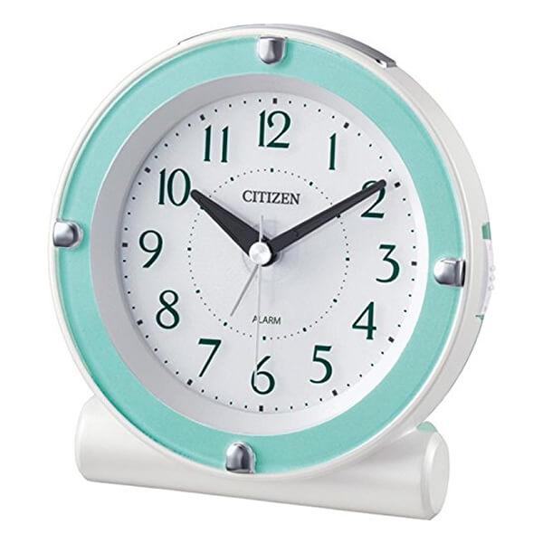 CITIZEN シチズン 目覚まし時計 セリアR652 8RE652005 緑