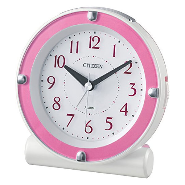 CITIZEN シチズン 目覚まし時計 セリアR652 8RE652013 ピンク