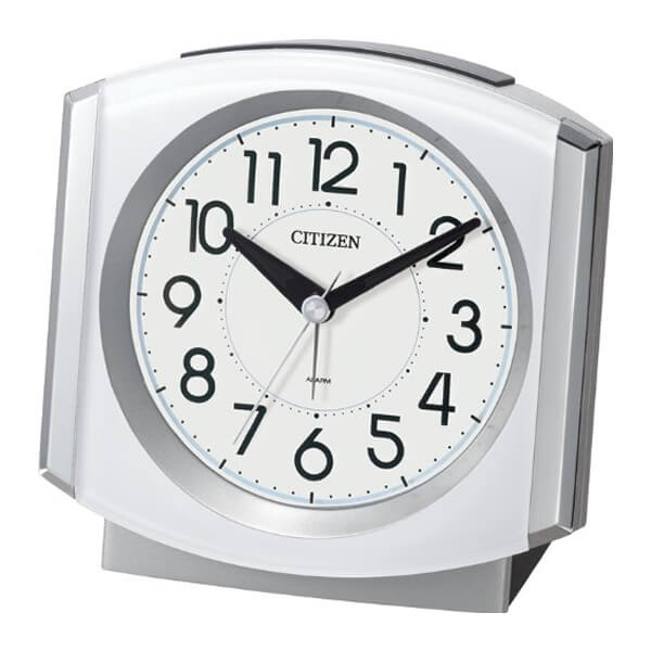CITIZEN シチズン 目覚まし時計 セリアRA24 8REA24003 白