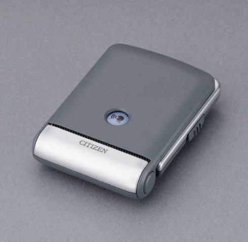 CITIZEN シチズン デジタル 電波 音声アラーム 置き時計 パルデジットガイド 8RZ109019 ふたを閉じた状態