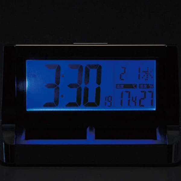 CITIZEN シチズン デジタル 電波 置き時計 パルデジットソーラーR128 8RZ128019 ライト