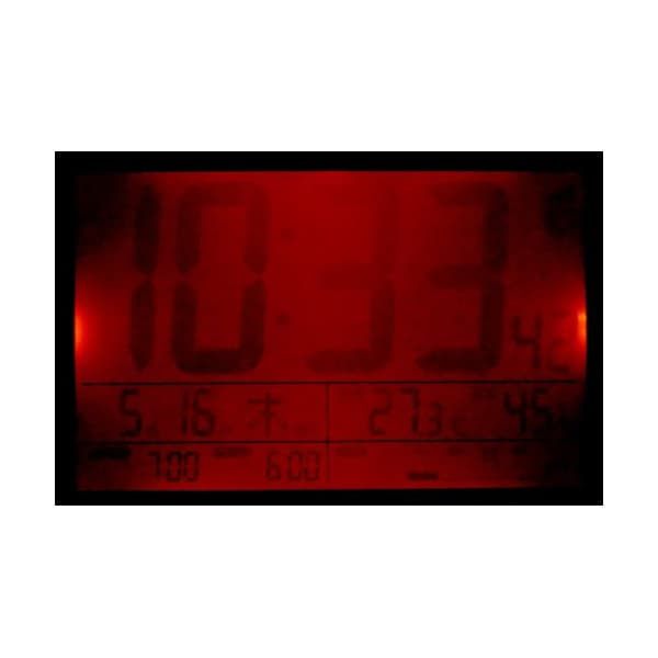 CITIZEN シチズン デジタル 電波 置き時計 パルデジットワイドDL 8RZ151003 ライト