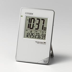 CITIZEN シチズン デジタル 電波 トラベラー 目覚まし時計 パルデジットビブラート 8RZ159003 スタンド付