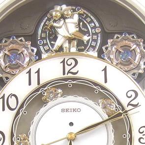 シチズン(citizen)電波掛け時計おしゃれインテリアクロック新築祝開店祝い贈答品に人気です