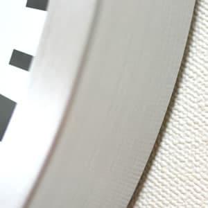 モンディーン鉄道掛け時計 A995CLOCK16SBB 枠 ヘアライン加工
