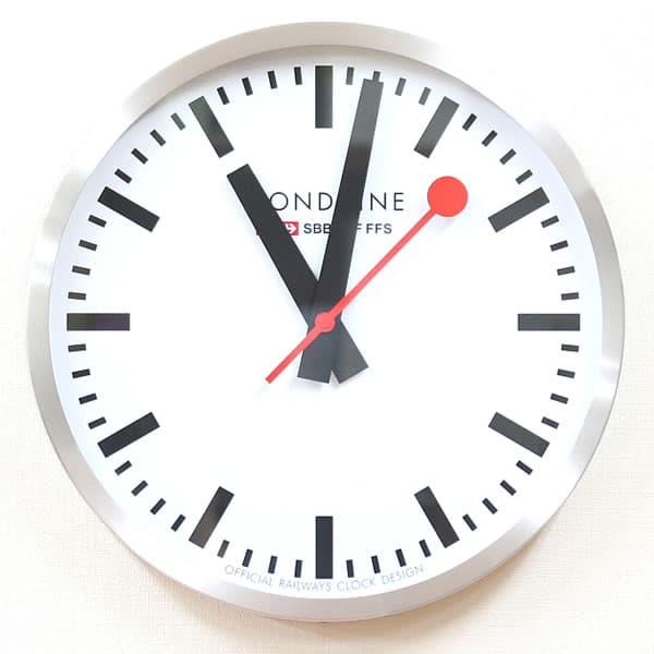 モンディーン鉄道掛け時計 A995CLOCK16SBB