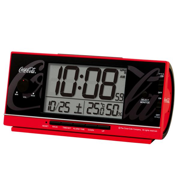 SEIKO セイコークロック コカ・コーラネーム 目覚まし時計 AC602R