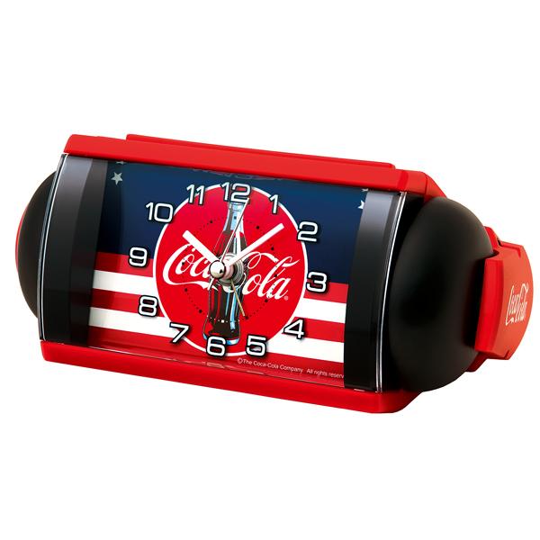 SEIKO セイコークロック コカ・コーラネーム 目覚まし時計 AC604R