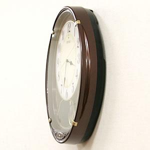 セイコー 電波からくり掛け時計 ウェーブシンフォニー【AM248B】 側面
