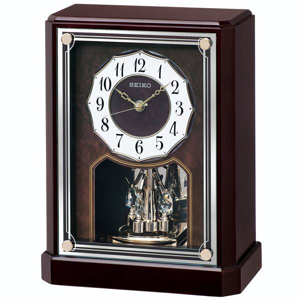SEIKO セイコー 電波置き時計【BY243B】