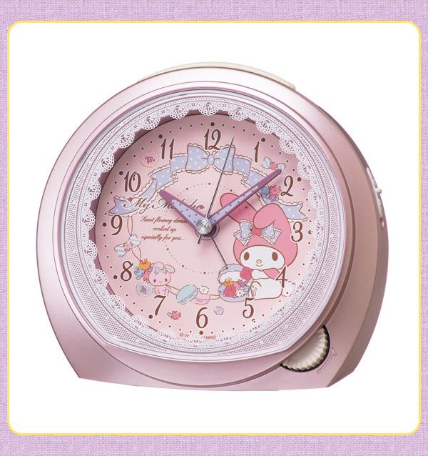 SEIKO セイコー キャラクター 目覚まし時計 マイメロディ CQ143P