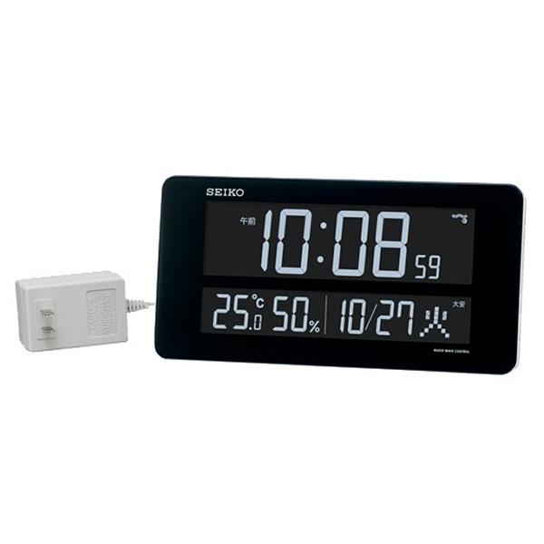 SEIKO セイコー デジタル 電波 掛け置き兼用時計 シリーズC3 DL208W