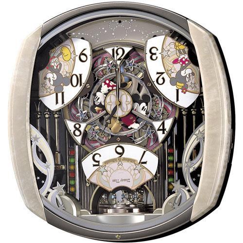 SEIKO セイコー ディズニーキャラクター掛け時計ミッキーマウス【fw554b】