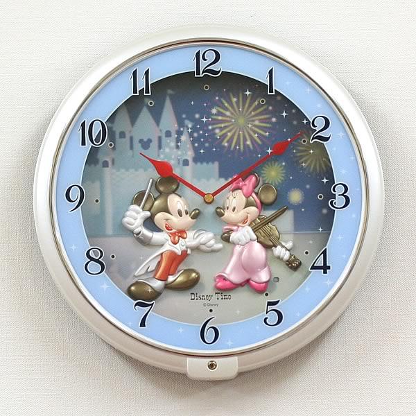SEIKO セイコー ディズニーキャラクター掛け時計ミッキーマウス【fw568w】