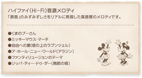 SEIKO セイコー ディズニーキャラクター 電波 アミュージング 掛け時計 ミッキー&ミニー FW575B 収録曲