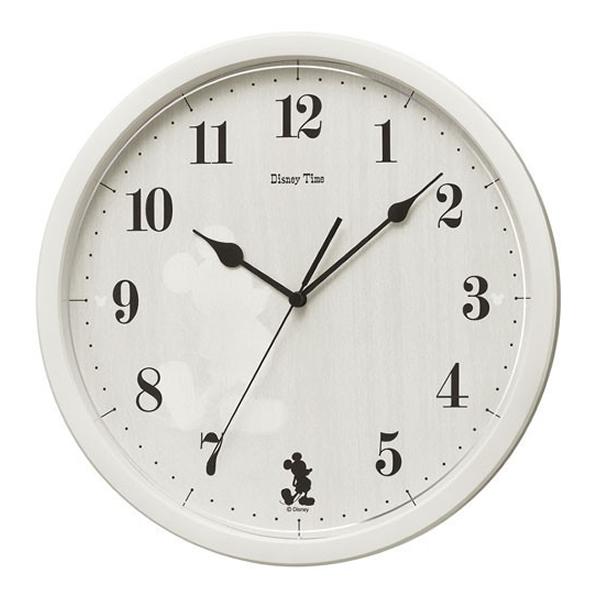 SEIKO セイコー ディズニーキャラクター 掛け時計 ミッキー FW577A アイボリー