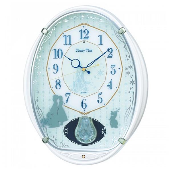 SEIKO セイコー ディズニーキャラクター 電波 アミュージング 掛け時計 アナと雪の女王 FW578W
