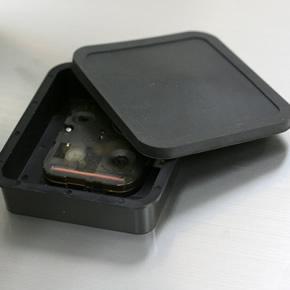 SEIKO セイコー 屋外用防雨型掛け時計【グリーン購入法適応商品】【KH411S】 裏ぶた ゴム