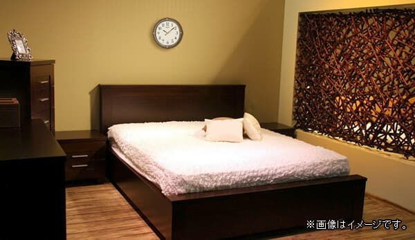 SEIKO セイコー 木製 夜光 電波 掛け時計 KX202B 使用イメージ