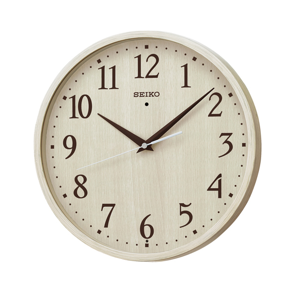 SEIKO セイコー ナチュラルスタイル 電波 掛け時計 KX399A アイボリー