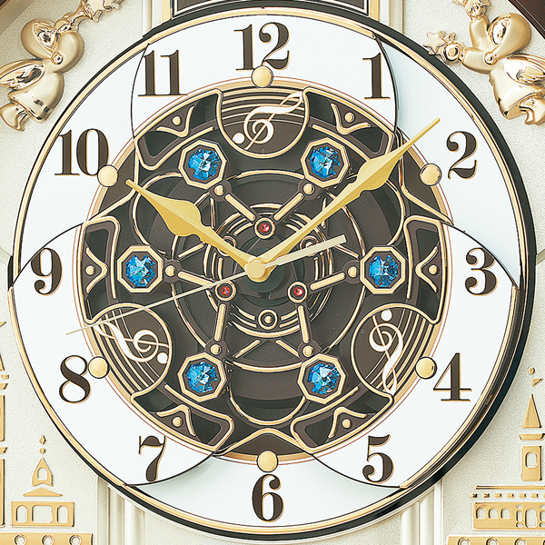 SEIKO セイコー 電波 からくり 掛け時計 RE579B